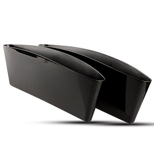 Car Storage Box Cracks Storage Box Car Cubby Box a Set of Two black