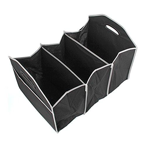 Vander Durable Multipurpose Folding Car Storage BoxBlack