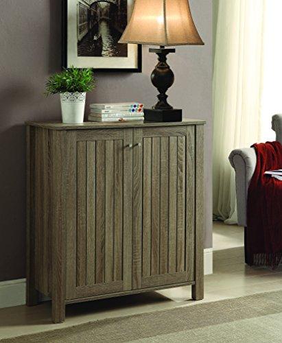 Coaster Home Furnishings Coaster 950551 Shoe Cabinet Weathered Grey
