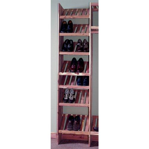 Northern Kentucky Cedar BVSC2412 Aromatic Red Cedar 24 in Basic Ventilated Shoe Cubby Kit