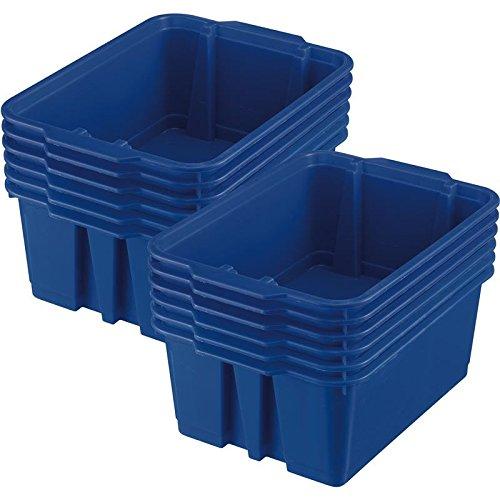 14x10 Stackable Bins -12 Pack