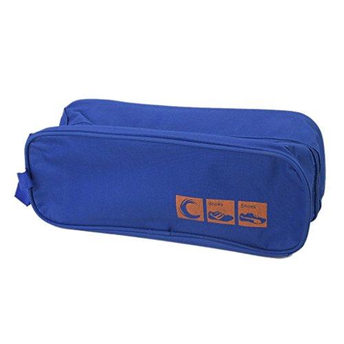 Anndeeson Waterproof Travel Shoe Storage Bag Case Shoe Organiser Blue