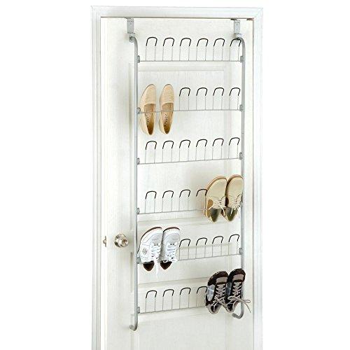 Organize It All Overdoor Wire Shoe Rack