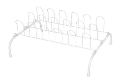 Pro-Mart DAZZ 9-Pair Wire Shoe Rack