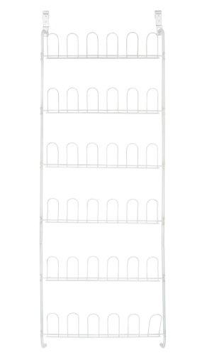 Pro-Mart DAZZ Over-The-Door 18-Pair Wire Shoe Rack