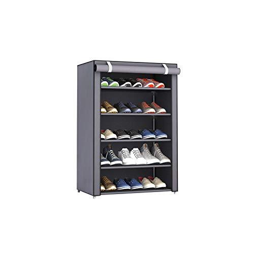 Shoe Organize Dustproof Large Size Non-Woven Fabric Shoes Rack Shoes Organizer Home Bedroom Dormitory Shoe Racks Shelf Cabinet6Layers 5 Lattice