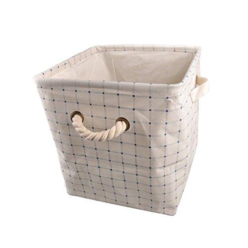 Homeleii Foldable Storage Bin Organizer Basket Household Drawer Box Square Basket 110210631181LWH