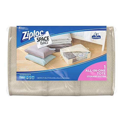 Ziploc Space Bag 1ct Underbed Tote