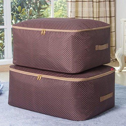 Oxford cloth quilt bag comforter storage bag2 King size  large size