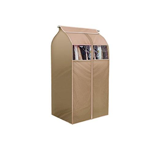 TSING 1 Pack Garment Cover 420D Nylon Oxford Fabric Storage Bag-Beige-32W23D43H