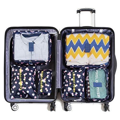 Travel 6pcsPack Storage Bag Clothing Personal Items Storage Bag Space Saver Bags