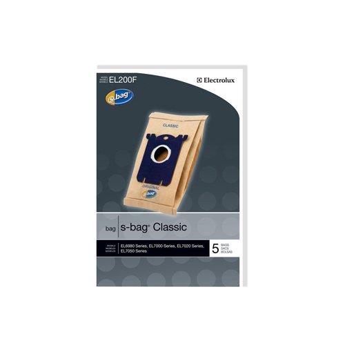 Electrolux EL200F S-Bag Classic Vacuum Bag Set of 5