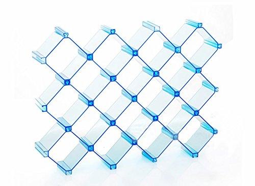 Miyare Freestyle Storage Box Bra Underwear Sock Clost Drawer Organizer Have 3 Color Can Choose 10 pc Blue