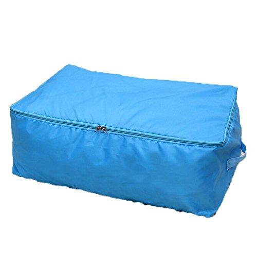Zehui Home Decor Storage Bag Household Storage Box Blue M