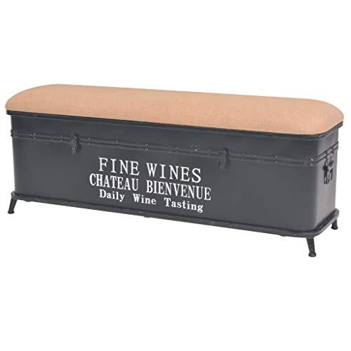 Storage Bench with Cushion 406x118x157