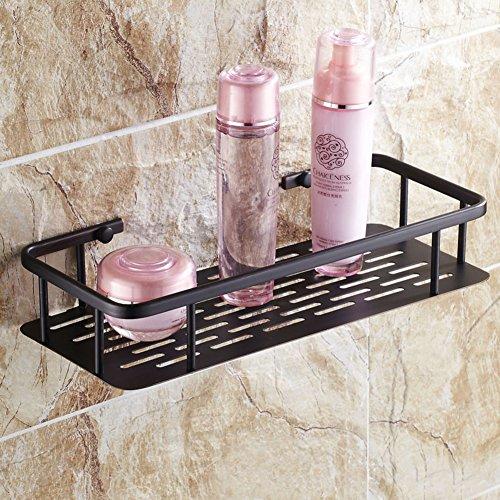 All copper antique basket QuartetBlack storage basket Storage basketBathroom and Toilet storage Shelves-A