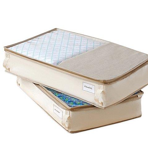 Real Simple Garment Storage Underbed Bags Set of 2