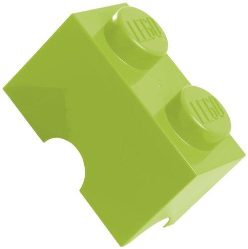 Lego 2 cones Green Storage box