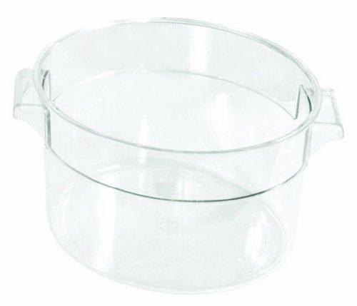 Crestware 6-Quart Round Clear Container