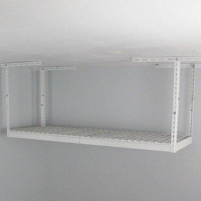 SafeRacks 2 x 6 ft Overhead Garage Storage Rack