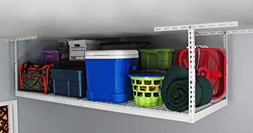 SafeRacks - 3x8 Overhead Garage Storage Rack 12-21