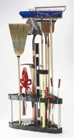 Rubbermaid 30-Tool Corner Tool Rack FG5A4700MICHR