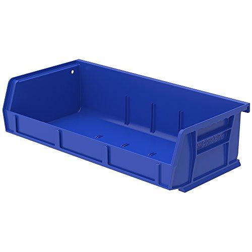5-38L x 11W x 3H Blue Storage Bin 1 Bin