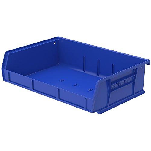 7-38L x 11W x 3H OD Blue Storage Bin 1 Bin