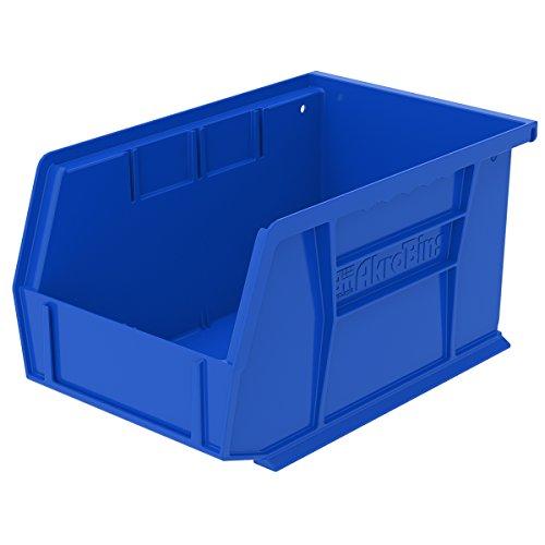 9-14L x 6W x 5H OD Blue Storage Bin 1 Bin