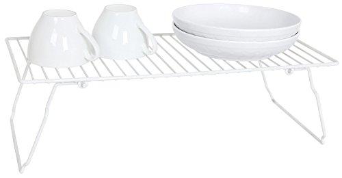 EURO-HOME Stackable Shelf White