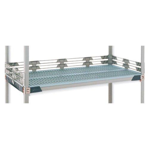 Metro MQL24-2S MetroMax Q Stackable Shelf Back Ledge 24 Length x 2 Height