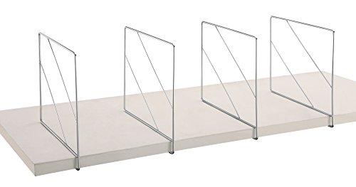 Organize It All Stackable Shelf Divider 2-Piece Per Set