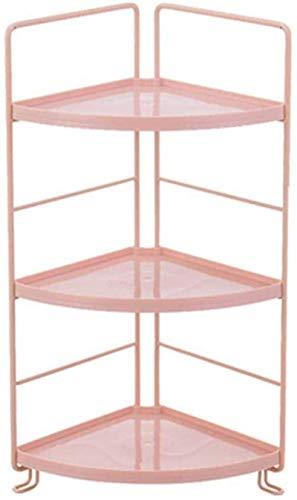 3-Shelf Shelving UnitHeavy Duty Shelving Units Metal Storage Shelves Shed Utility Rack ColorOrangeSizeTriangle