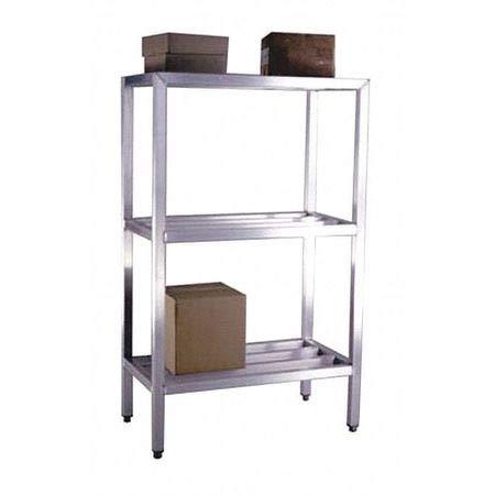 Three Shelf Heavy Duty Shelving Unit 1500 lb Capacity 24 x 48 x 60