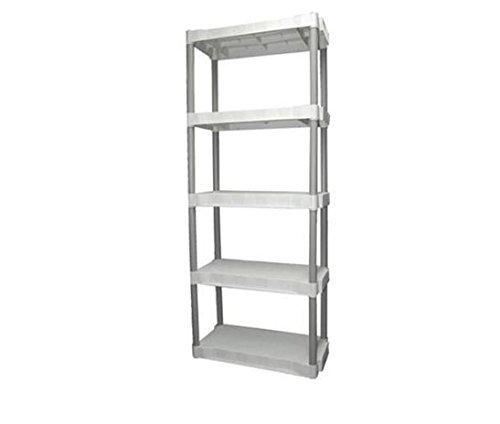Plano 5-shelf Storage Unit Light Taupe by Plano