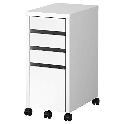 IKEA MICKE Drawer UnitDrop File Storage White