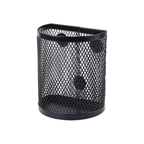 Metal Wire Mesh Magnetic Basket Storage Box Pen Pencil Makeup Organizer Kitchen
