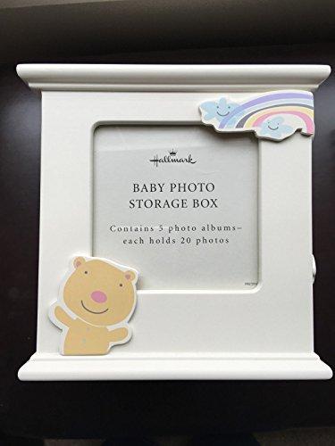 Hallmark Baby Photo Storage Box 5 Photo Albums Each Hold 20 Photos