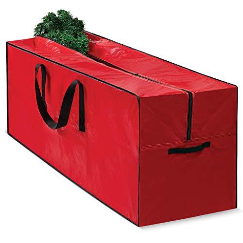 Christmas Tree Bag for Christmas Tree Storage Bag - Xmas Tree Bag fits 8 FT Artificial dissembled Tree - Heavy Duty Christmas Tree Tote Reinforced Handles - Christmas Tree Storage Tote is Waterproof
