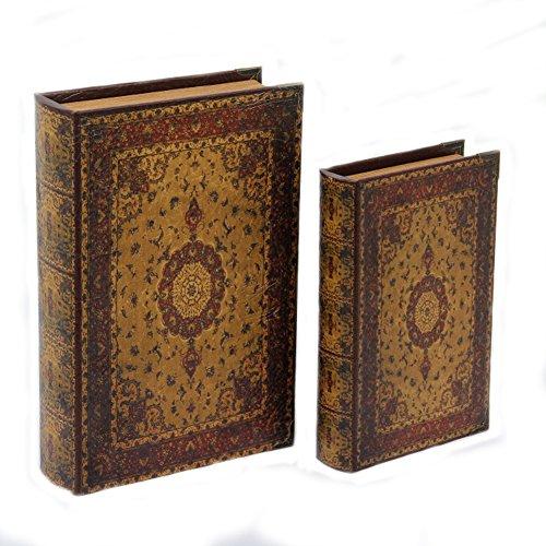 Decorative Book Storage Box Classic Old Fashioned Box