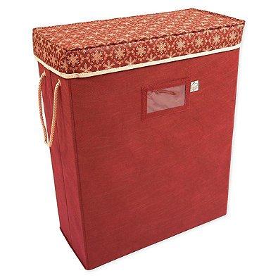 TreeKeeper Santas Bags Snowflake Gift Bag and Tissue Storage Box