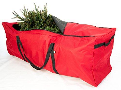 TreeKeeper Santas Bags Premium Christmas Extra Large Rolling Tree Storage Duffel by TreeKeeper