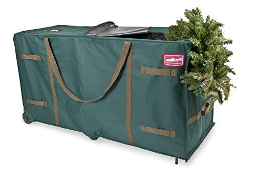 TreeKeeper TK-10773 Greenskeeper 10-15 Extra Large Christmas Tree Storage Bag with Wheels