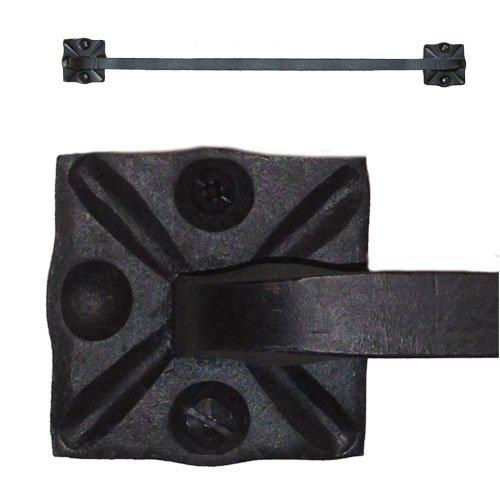 Adobe Wrought Iron Towel Bar Rack Holder 18
