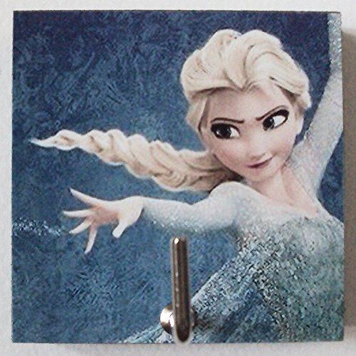 Agility Bathroom Wall Hanger Hat Bag Key Adhesive Wood Hook Vintage Elsa's Photo