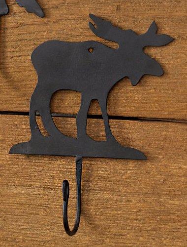 Moose Iron Hook - Cabin Decor