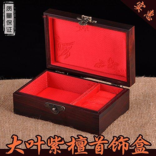 Wooden Jewelry Organizer Box Storage Cabinet Chest Armoire Case