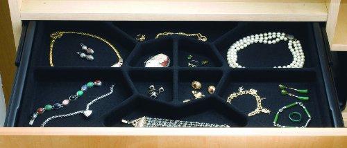 Rev-A-Shelf Jewelry Drawer Insert 24in wide x 14in deep
