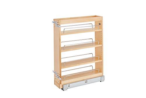 Rev-A-Shelf 5 in Base Cabinet Organizer Natural