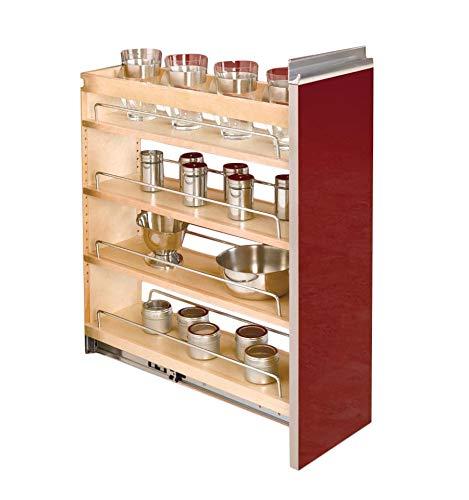 Rev-A-Shelf 8 in Base Cabinet Organizer Natural